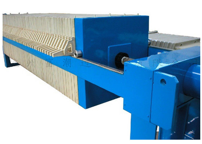 Manual Hydraulic Closing Plate And Frame Filter Press For Industrial Waste Treatment