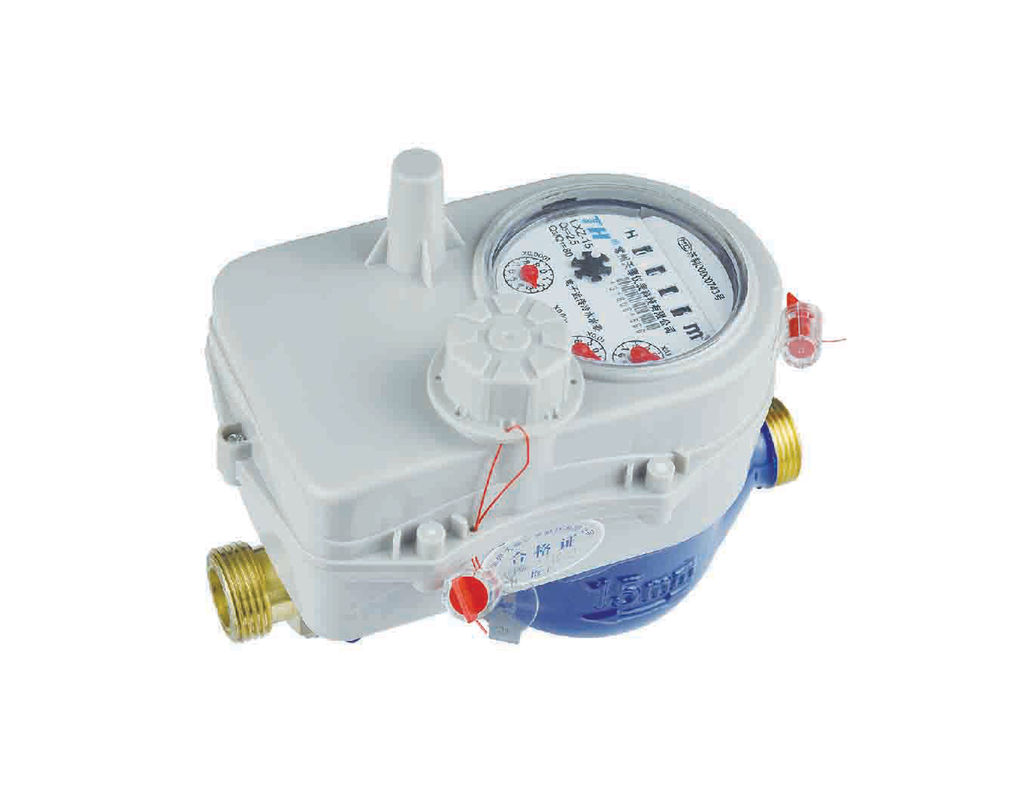 20 Dbm Emitter Power AMR Water Meter 433 - 470 Mhz 2000m Transmit Distance