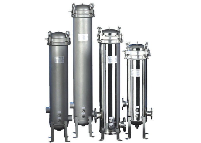 Swing bolt top closure Cartridge Filter Vessels for RO system pretreatment