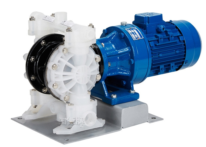 Polypropylene Pneumatic Diaphragm Pumps With Cycloidal Reducer 3kw